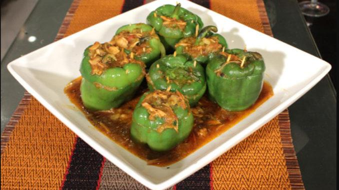 Jalfrezi Stuffed Pepper Recipe By Zubaida Tariq Pakistani Chef Recipes
